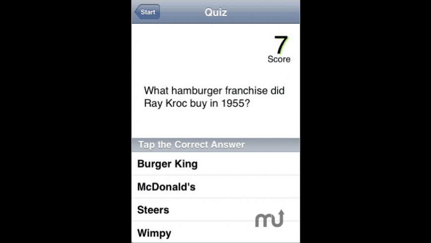 Hot Potato Trivia for Mac - review, screenshots
