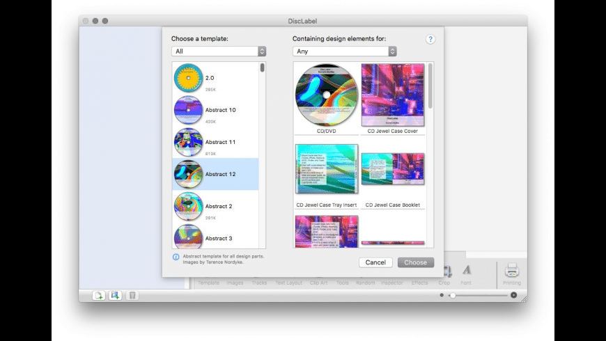 DiscLabel for Mac - review, screenshots