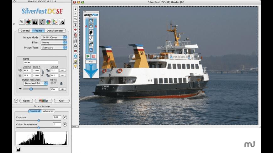 SilverFast DC SE digital camera for Mac - review, screenshots