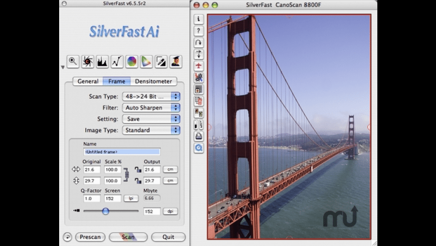 SilverFast High-End Suite for Heidelberg Scanners for Mac - review, screenshots