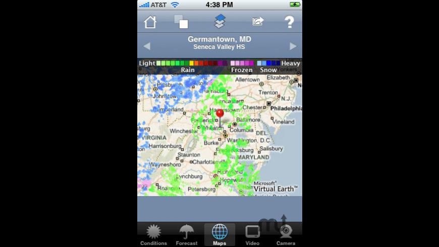 WeatherBug for Mac - review, screenshots