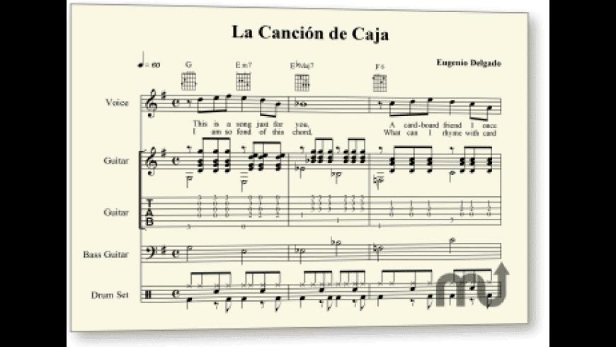 Finale PrintMusic for Mac - review, screenshots