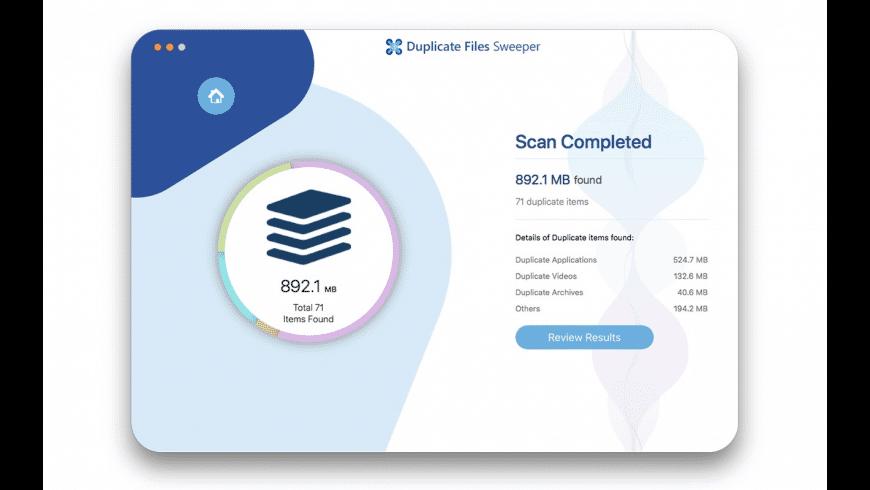 Duplicate Files Sweeper for Mac - review, screenshots