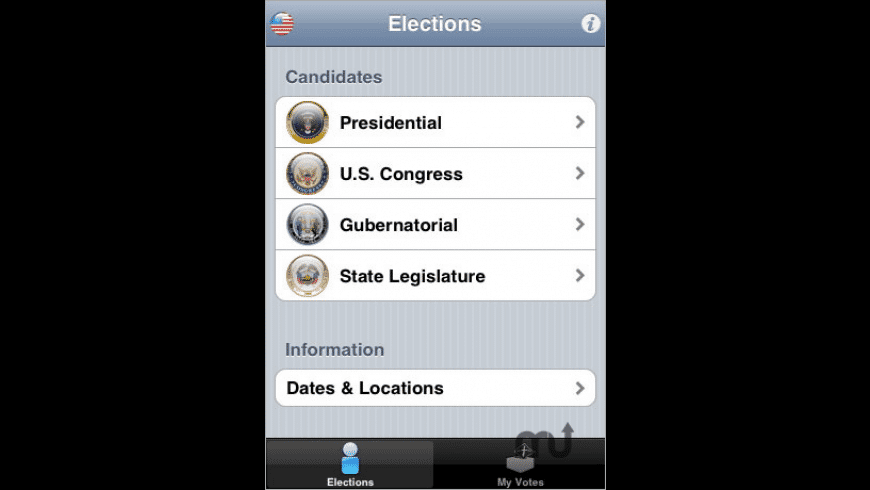 Elections for Mac - review, screenshots