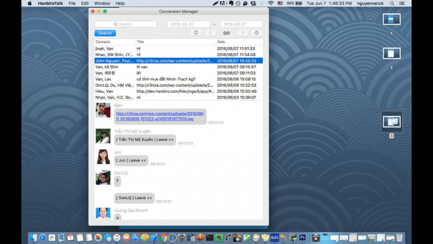 MofficeTalk for Mac - review, screenshots