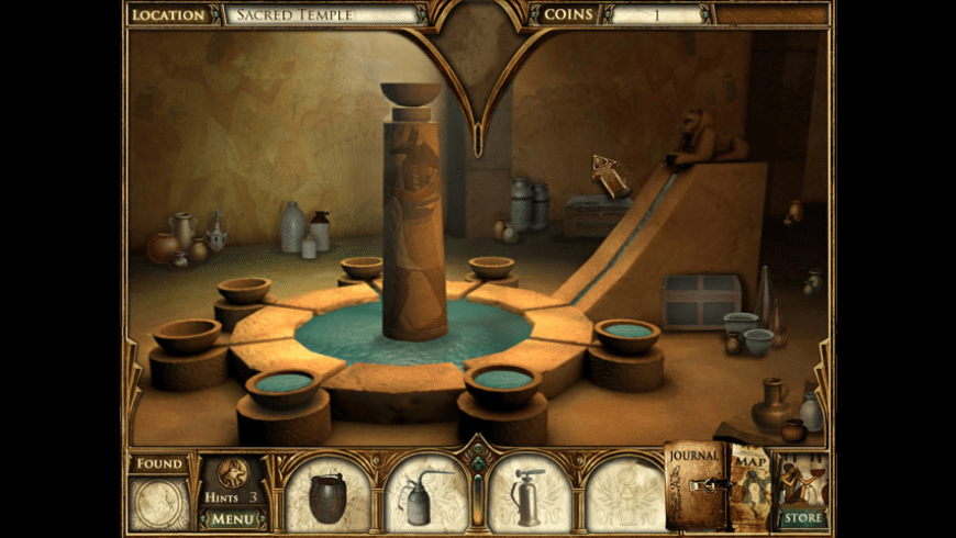 Curse of the Pharaoh: The Quest for Nefertiti for Mac - review, screenshots