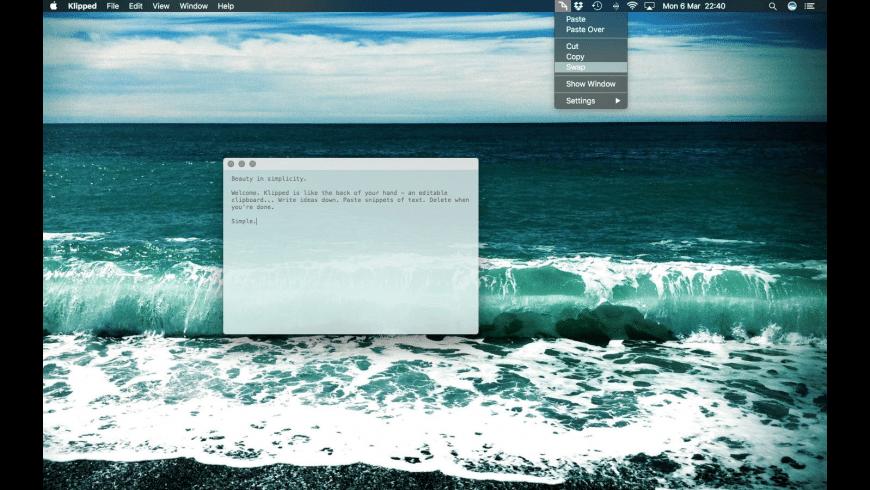 Klipped for Mac - review, screenshots