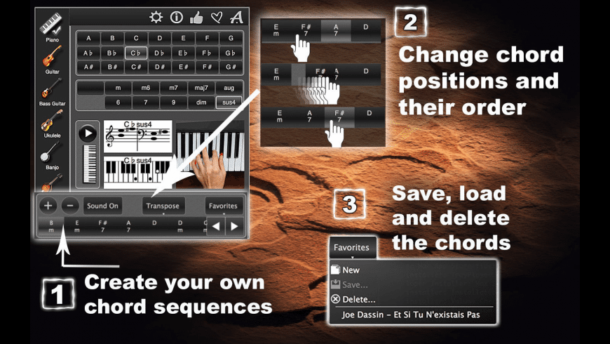 ChordsMaestro for Mac - review, screenshots