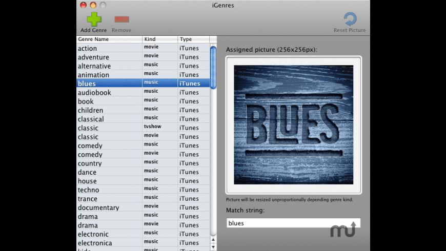 iGenres for Mac - review, screenshots