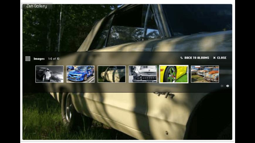 Zen Flash Gallery for Mac - review, screenshots