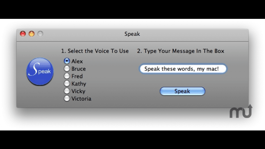 Speak for Mac - review, screenshots