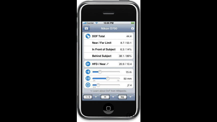 ƒ/8 for Mac - review, screenshots
