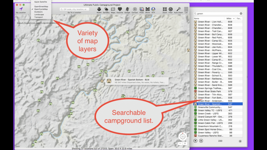 Ultimate Campground Project for Mac - review, screenshots