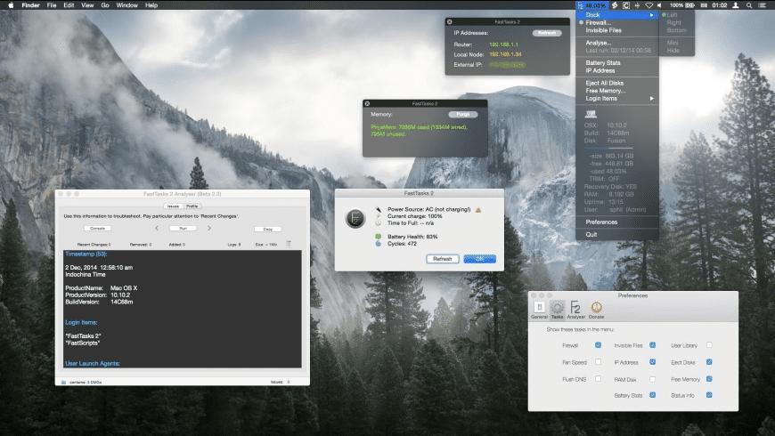 FastTasks for Mac - review, screenshots