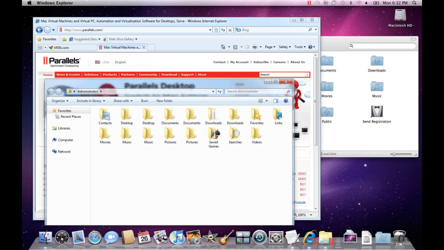 Parallels Desktop Pro Edition for Mac - review, screenshots
