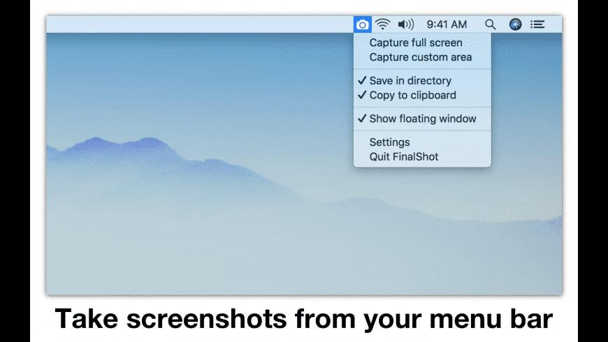 FinalShot for Mac - review, screenshots