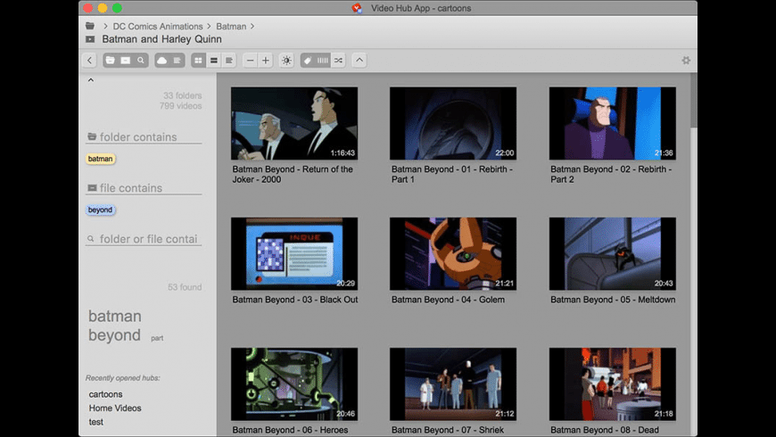 Video Hub App for Mac - review, screenshots