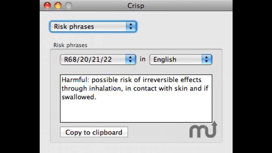 Crisp for Mac - review, screenshots