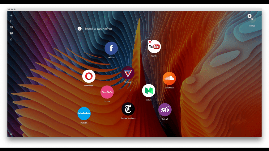 Opera Neon for Mac - review, screenshots