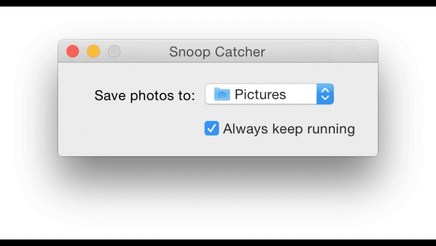 Snoop Catcher for Mac - review, screenshots