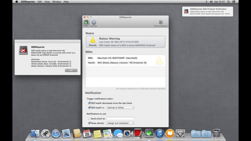 SSDReporter for Mac - review, screenshots