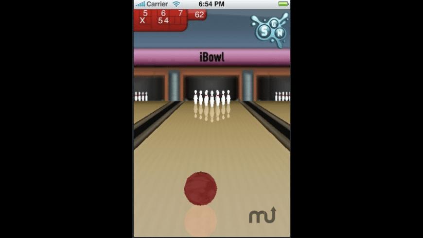 iBowl for Mac - review, screenshots