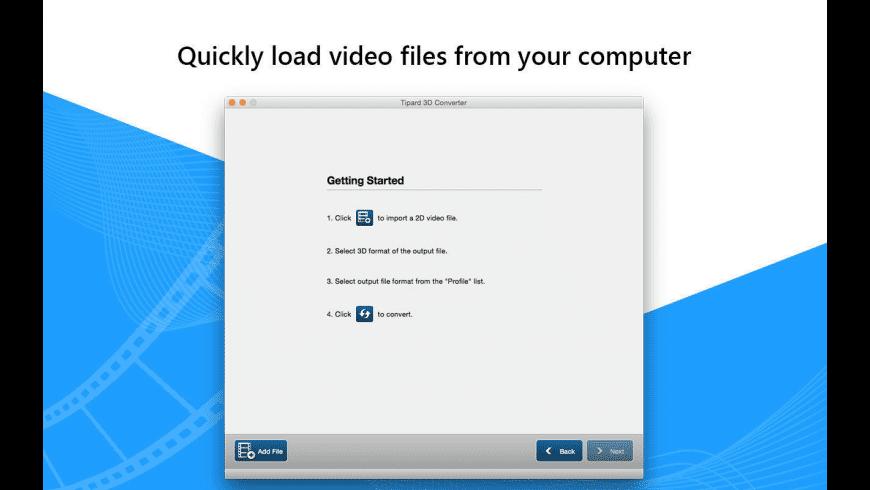 Tipard 3D Converter for Mac - review, screenshots