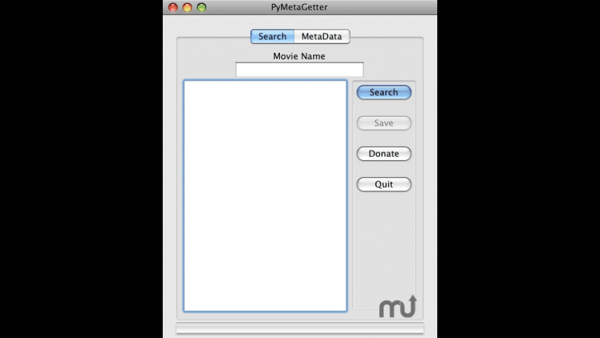 PyMetaGetter for Mac - review, screenshots