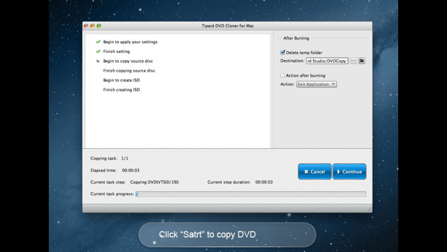 Tipard DVD Cloner for Mac for Mac - review, screenshots