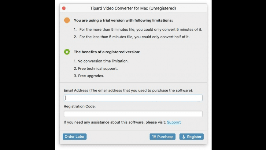Tipard Video Converter for Mac for Mac - review, screenshots