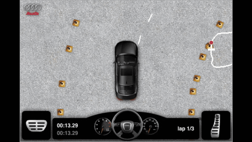 Audi A4 Driving Challenge for Mac - review, screenshots