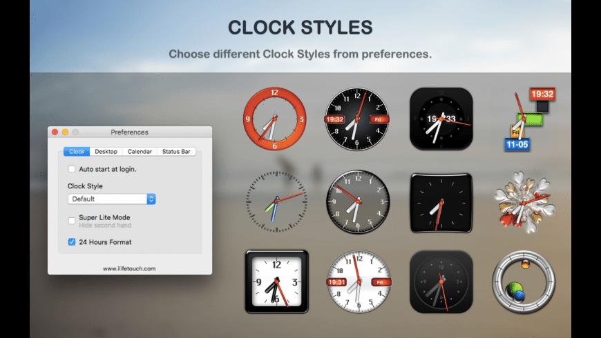 Dock Clock for Mac - review, screenshots