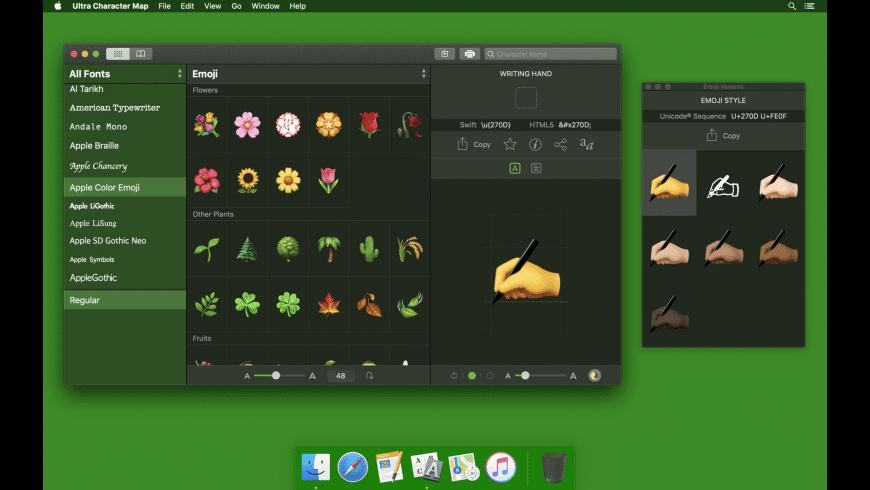 Ultra Character Map for Mac - review, screenshots