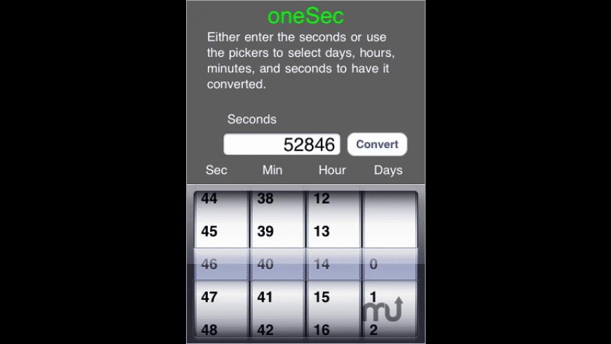 oneSec for Mac - review, screenshots