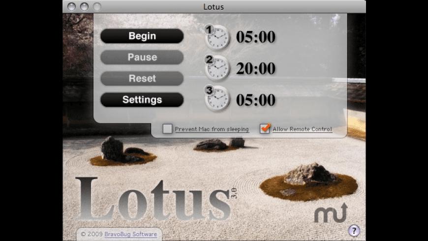 Lotus for Mac - review, screenshots