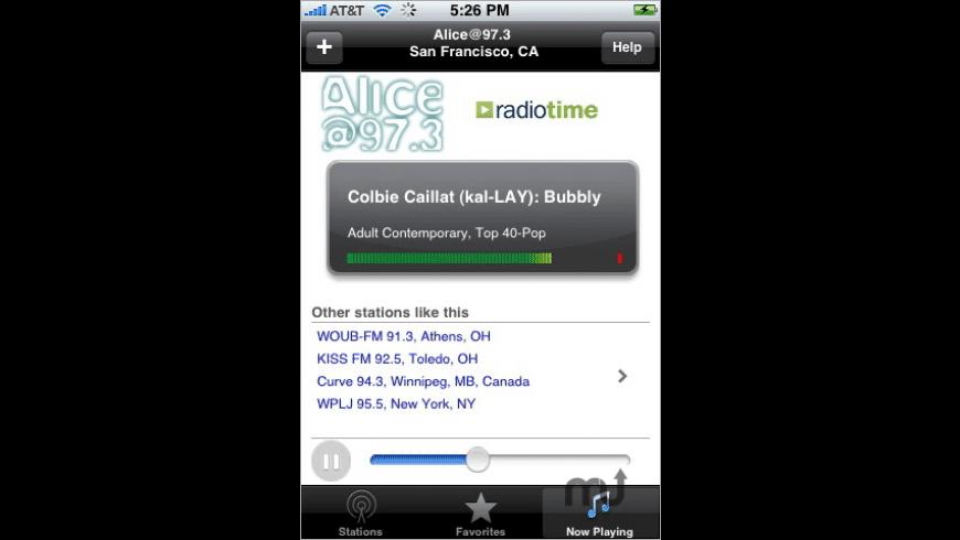 WunderRadio for Mac - review, screenshots