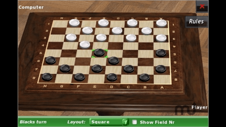Checkers Online for Mac - review, screenshots