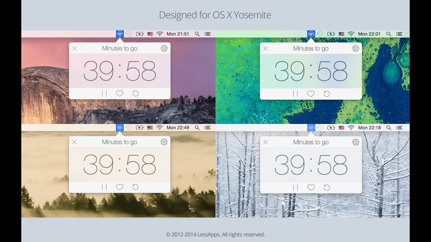 Healthier for Mac - review, screenshots