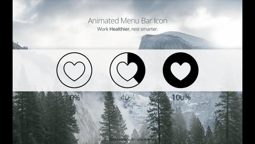 Healthier for Mac - review, screenshots