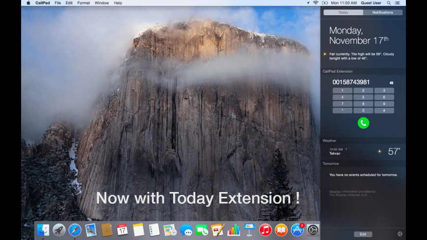 CallPad for Mac - review, screenshots