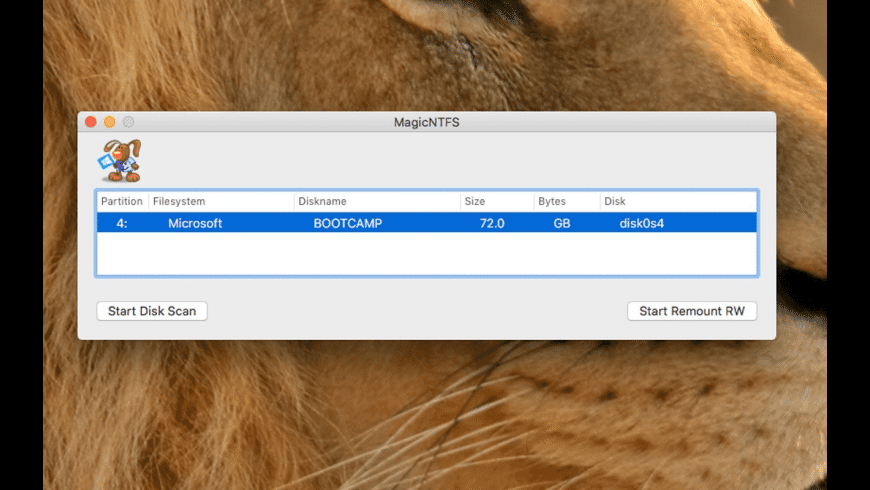 MagicNTFS for Mac - review, screenshots