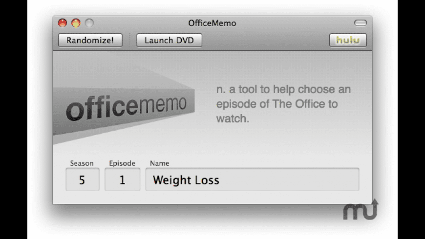 OfficeMemo for Mac - review, screenshots