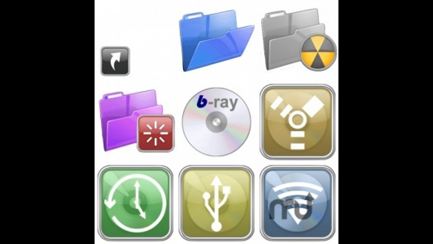 Glossy 2 Iconset for Mac - review, screenshots