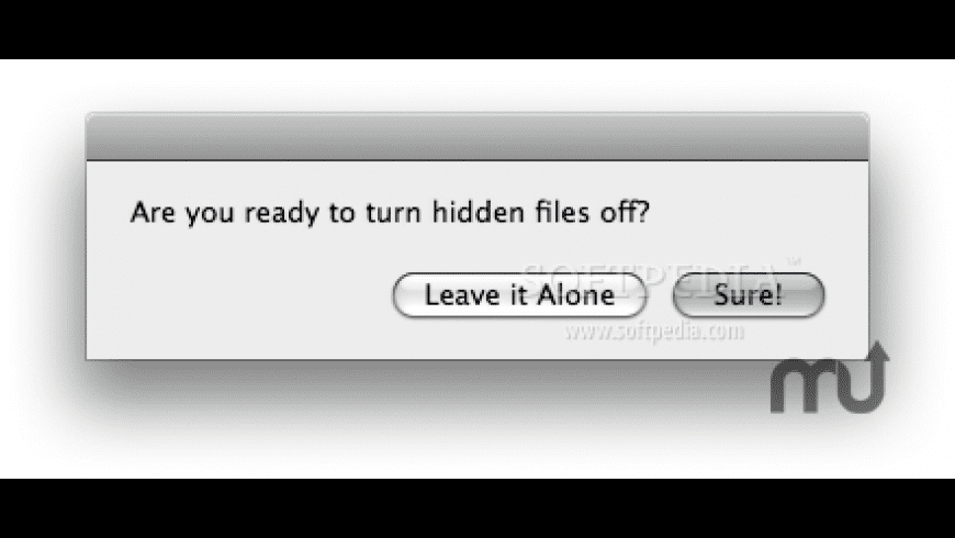 Show Hidden Files for Mac - review, screenshots