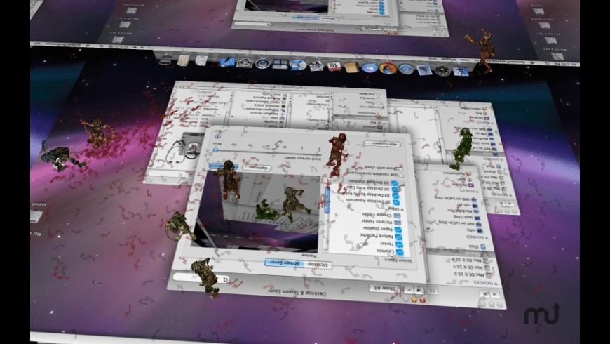 3D Desktop Zombies! Screen Saver for Mac - review, screenshots