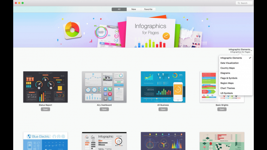 Infographics Maker for Mac - review, screenshots
