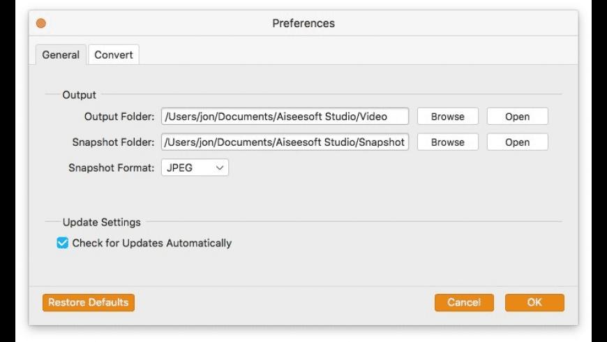 Aiseesoft Video Converter for Mac - review, screenshots