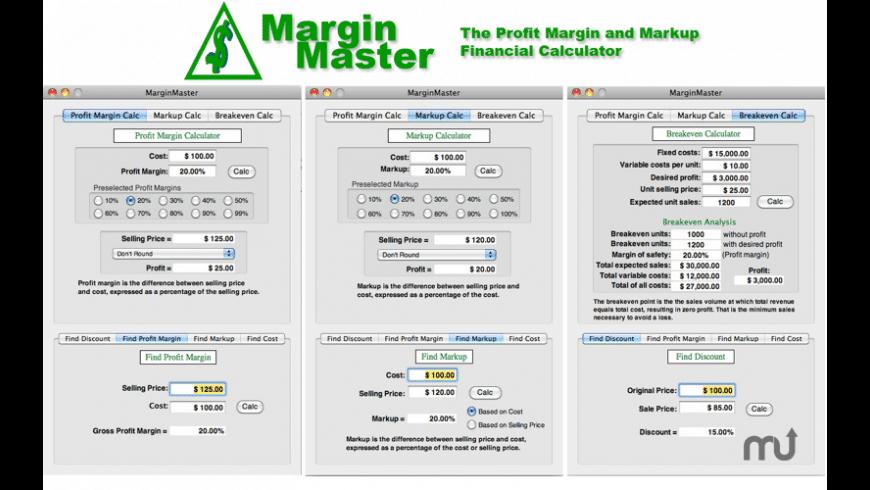 MarginMaster for Mac - review, screenshots