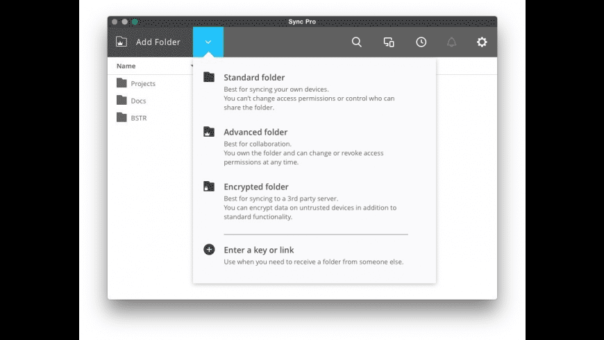 Resilio Sync for Mac - review, screenshots