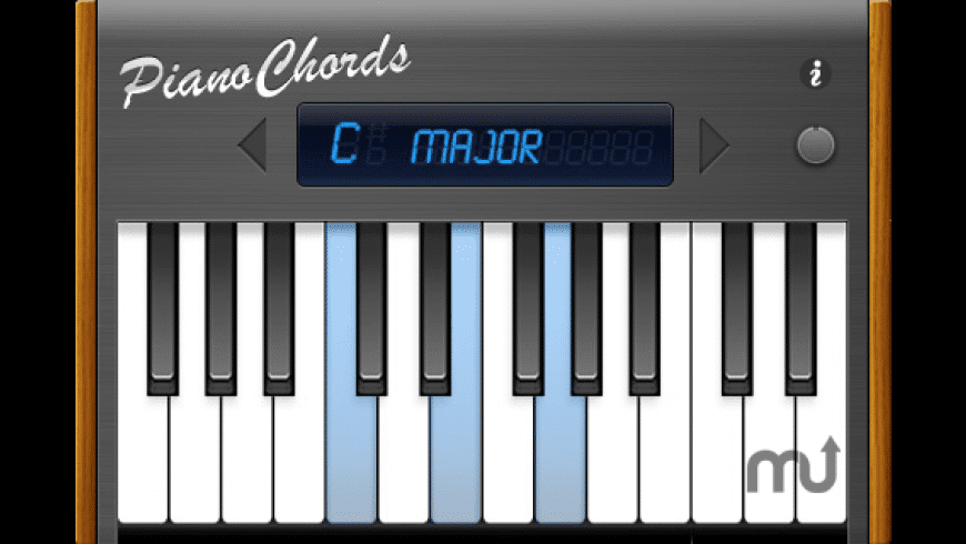 Pianochords for Mac - review, screenshots